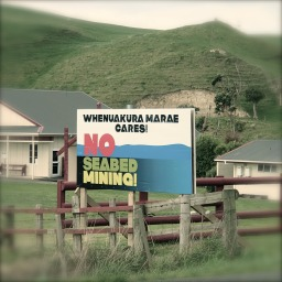 Whenuakura citizens say No, 2014